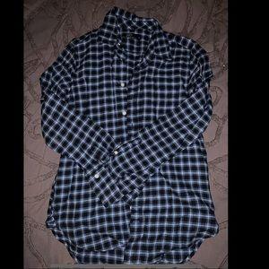 GAP plaid button up flannel